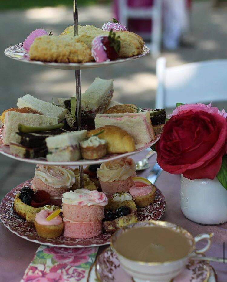Tray of Tea goodies